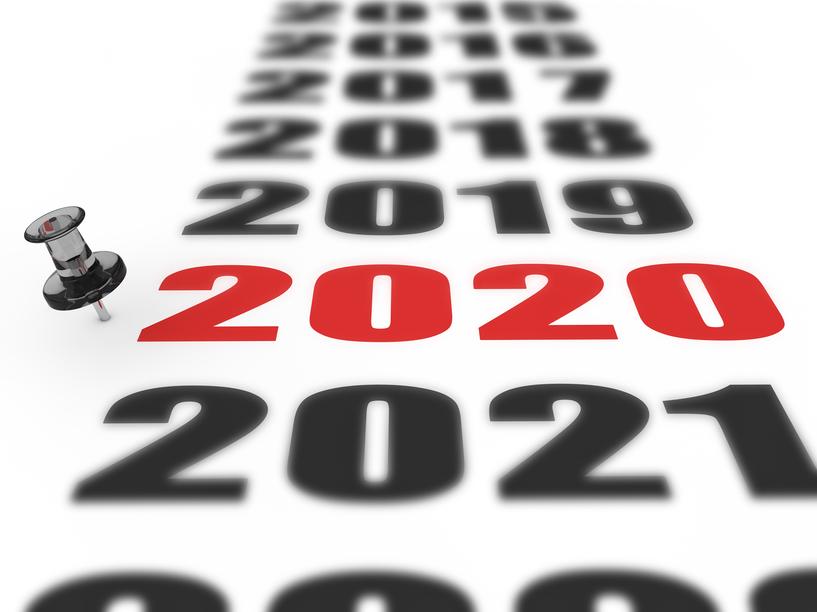 Jahreswechsel 2020 Kalender