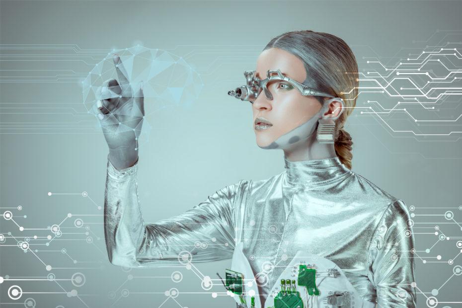Roboter und digitale Daten